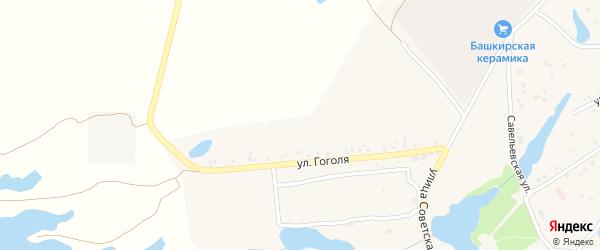 Улица Горького на карте села Кудеевского с номерами домов
