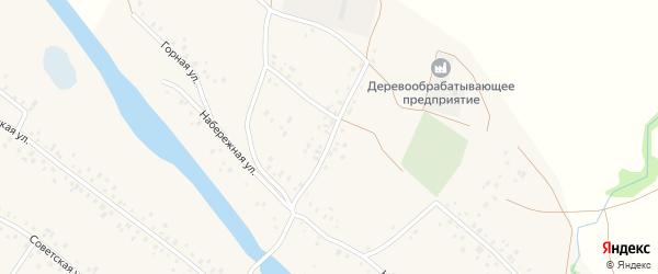 Красноармейская улица на карте села Кубиязы с номерами домов