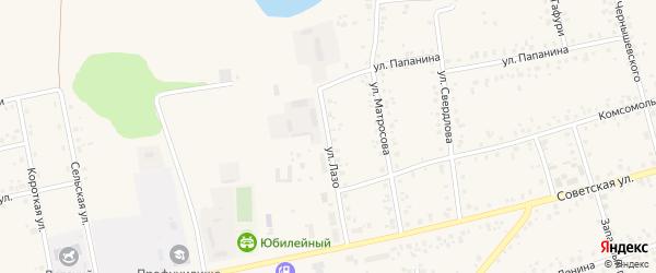 Улица Лазо на карте Архангельского села с номерами домов