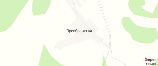Боровиковская улица на карте деревни Преображенки с номерами домов