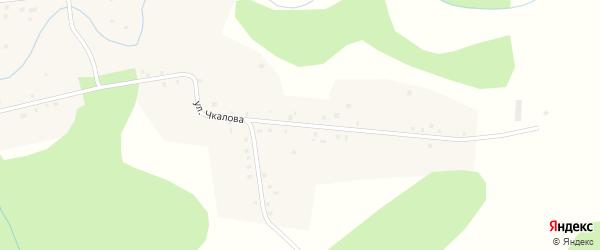 Улица Чкалова на карте Никольского села с номерами домов
