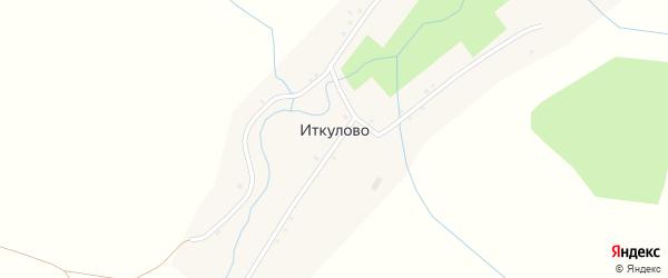 Улица Масетле на карте деревни Иткулово с номерами домов