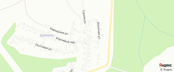 Горная улица на карте Березников с номерами домов