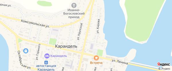Коммунистическая улица на карте села Караидели с номерами домов