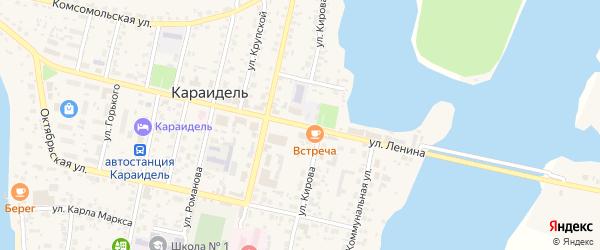 Улица Кирова на карте села Караидели с номерами домов