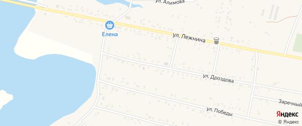 Габдуллы Тукая улица на карте села Абызово с номерами домов