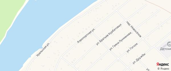 Аэропортная улица на карте села Абызово с номерами домов