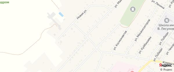 Улица Маяковского на карте села Улу-Теляка с номерами домов