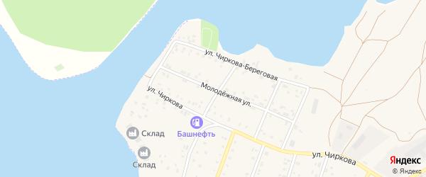 Молодежная улица на карте села Магинска с номерами домов