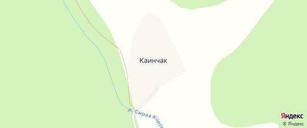 Степная улица на карте деревни Каинчака с номерами домов