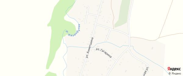 Казанбулакская улица на карте деревни Идельбаково с номерами домов
