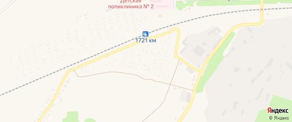 Сад СТ Химик на карте Миасса с номерами домов