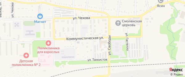 Улица Маяковского на карте Аши с номерами домов