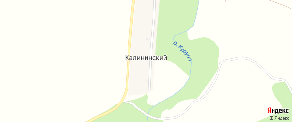 Луговая улица на карте Калининского хутора с номерами домов