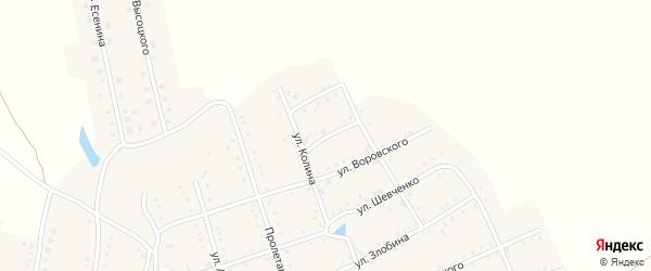 Улица Чапаева на карте Аши с номерами домов
