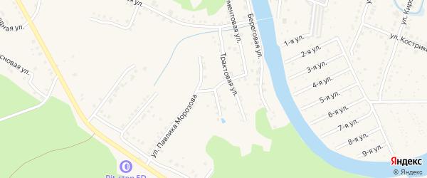 Улица Потемкина на карте Аши с номерами домов