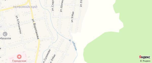 Улица 9 Января на карте Миньяра с номерами домов