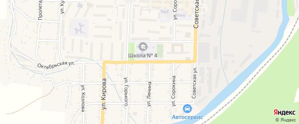Улица Ленина на карте Миньяра с номерами домов