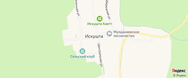 Улица Пищетара на карте села Искушты с номерами домов