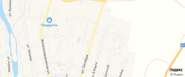 Улица Октября на карте Сима с номерами домов