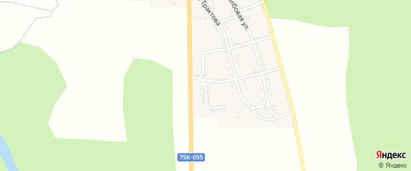 Зеленая улица на карте Сима с номерами домов