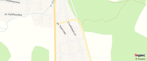 Столбовая улица на карте Сима с номерами домов