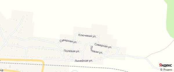 Ключевая улица на карте Сима с номерами домов