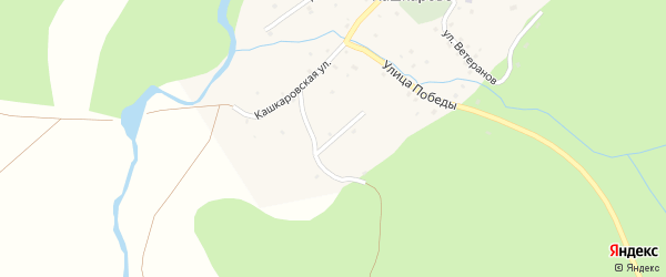Улица А.Муратова на карте села Кашкарово с номерами домов