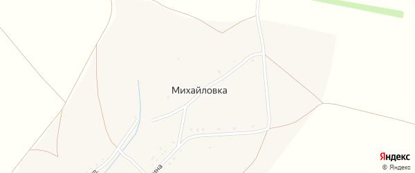 Улица А.Матросова на карте села Михайловки с номерами домов