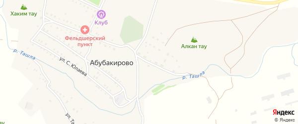 Ашкадарская улица на карте села Абубакирово с номерами домов