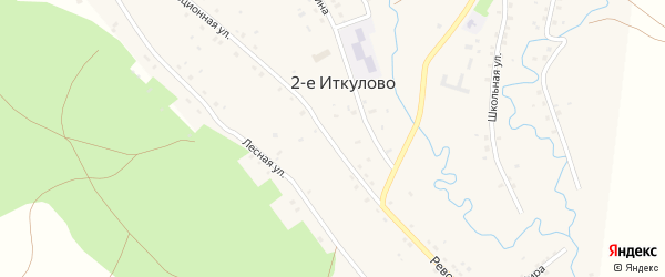 Революционная улица на карте села 2-е Иткулово с номерами домов