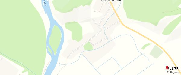 Карта села Мечетлино в Башкортостане с улицами и номерами домов
