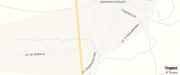 Улица Шаймуратова на карте села Матраево с номерами домов