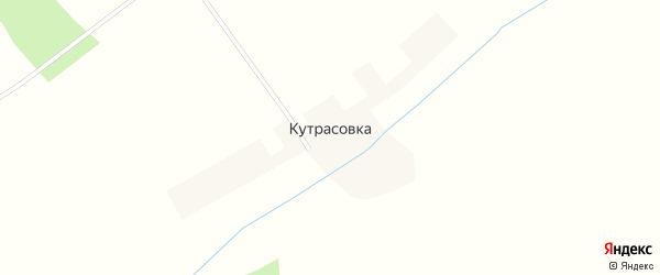 Улица Кутрасовка на карте села Кутрасовки с номерами домов