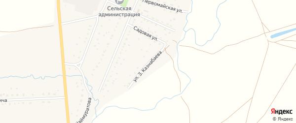 Садовая улица на карте села Матраево с номерами домов