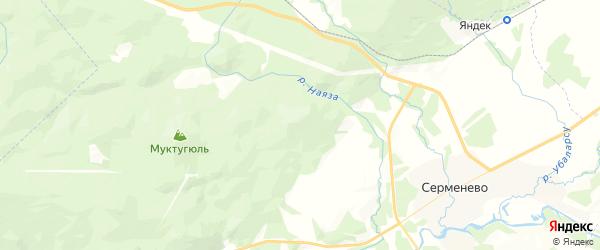 Карта Узянского сельсовета республики Башкортостан с районами, улицами и номерами домов