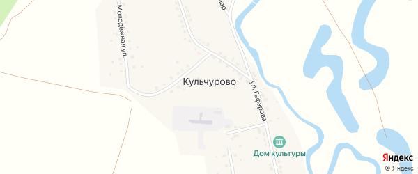 Молодежная улица на карте села Кульчурово с номерами домов