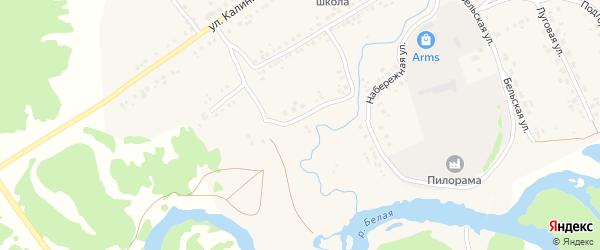 Молодежная улица на карте села Серменево с номерами домов
