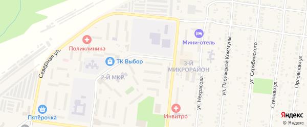 Улица ГК Автолюбитель-8/1 мкр-2 на карте Усть-Катава с номерами домов