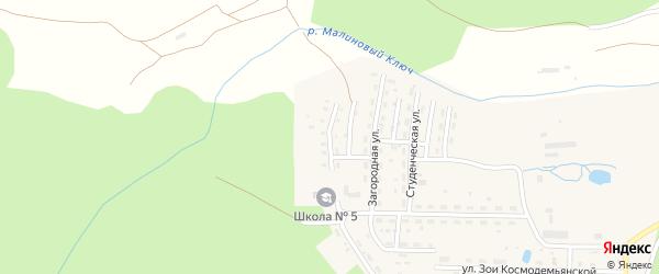 Учительская улица на карте Катава-Ивановска с номерами домов