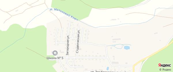Улица Шишкина на карте Катава-Ивановска с номерами домов