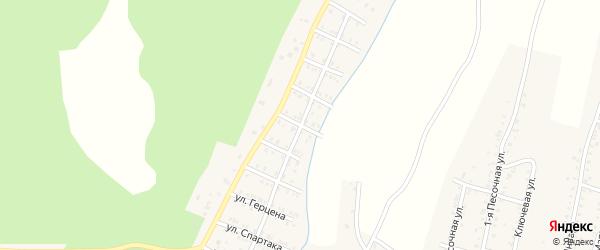 Северная улица на карте Усть-Катава с номерами домов