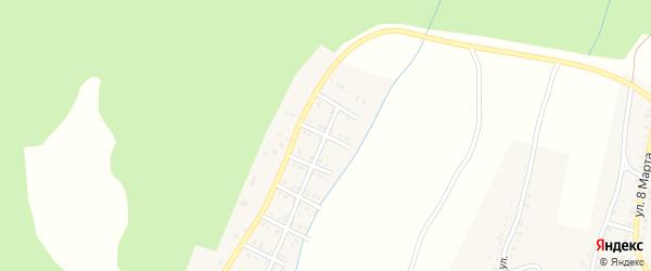Улица Суворова на карте Усть-Катава с номерами домов