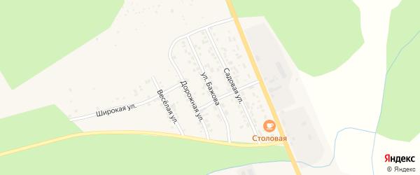 Улица Бажова на карте Катава-Ивановска с номерами домов