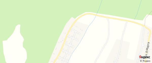 Улица Кутузова на карте Усть-Катава с номерами домов