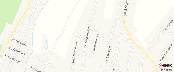 Территория ПКС Вагоностроитель-3 Улица 1 на карте Усть-Катава с номерами домов