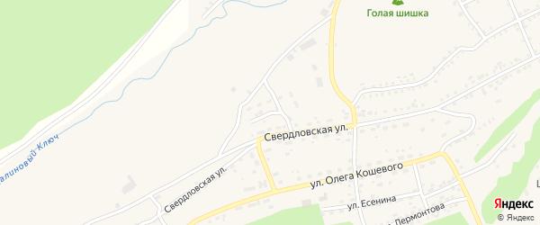 Красная улица на карте Катава-Ивановска с номерами домов