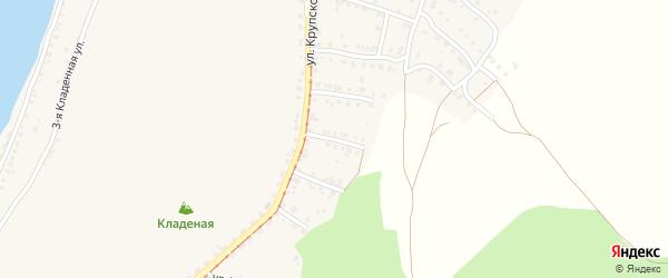 Катавский 6-й переулок на карте Усть-Катава с номерами домов