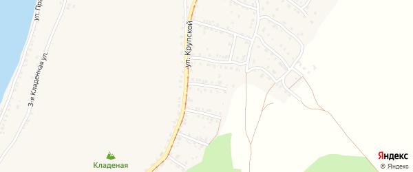 Катавский 5-й переулок на карте Усть-Катава с номерами домов