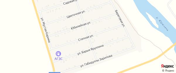 Парковая улица на карте села Малояза с номерами домов